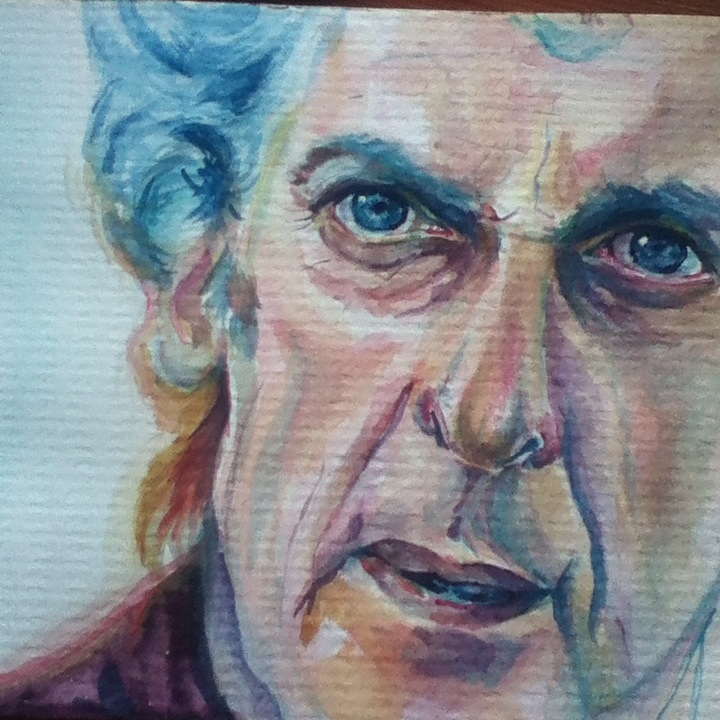 Peter Capaldi by Junkova14
